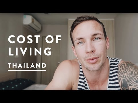 COST OF LIVING IN THAILAND – CHEAPEST PLACE TO LIVE? | Chiang Mai Travel Vlog 050, 2017