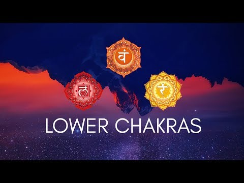 LOWER CHAKRAS HEALING MEDITATION MUSIC || Root, Sacral, Sola
