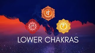 yoga for lower chakras