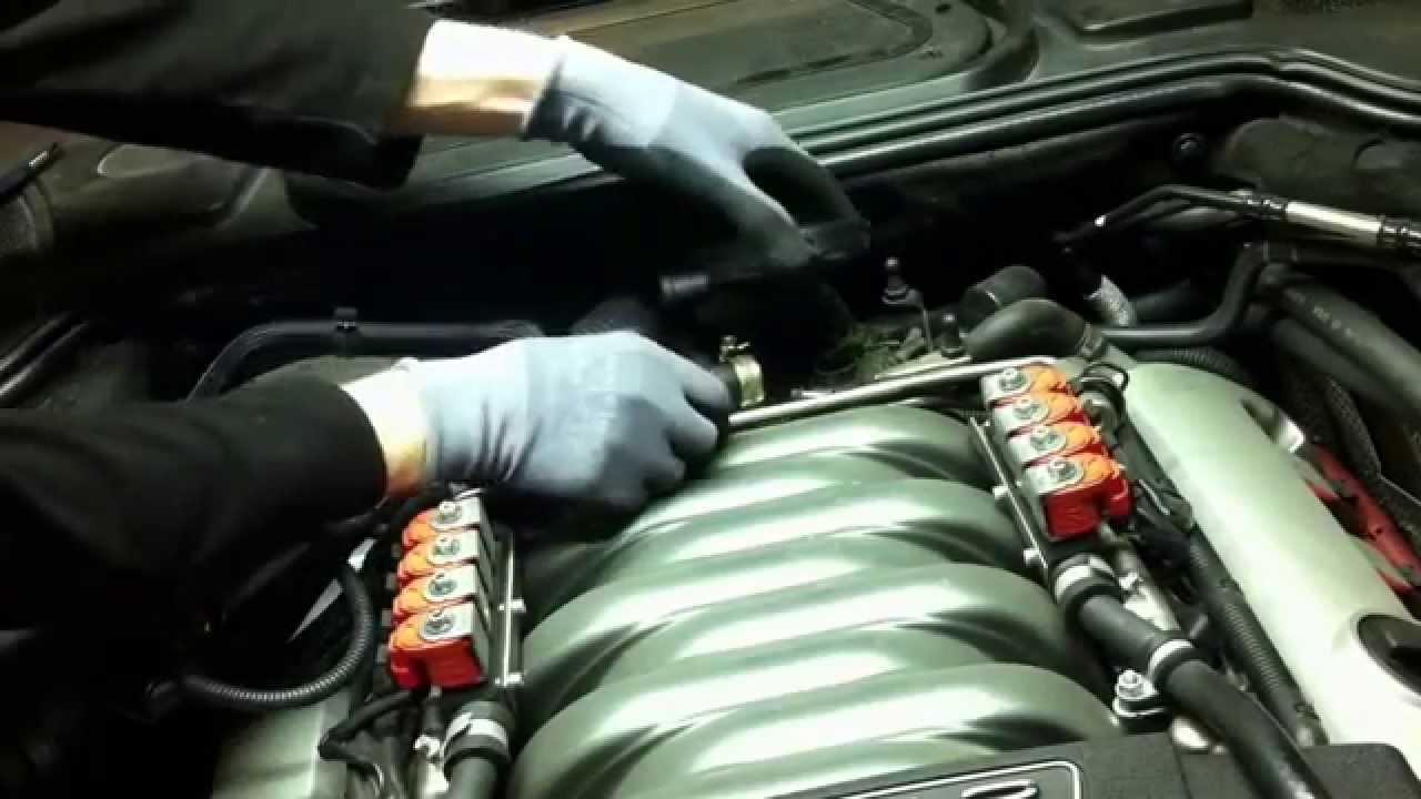 Audi A 8 Kurbelgeh 228 Use Entl 252 Ftungsventil Wechseln