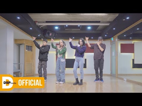 KARD - RED MOON _ 안무 영상 (Dance Practice)