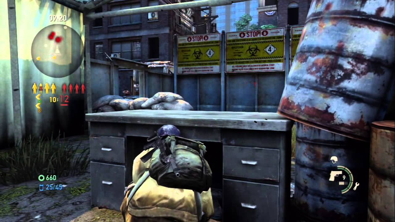 The Last Of Us Online Multiplayer Gameplay Using Custom Class Checkpoint Map