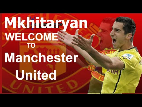 Henrikh Mkhitaryan   Manchester United -  Генрих Мхитарян Манчестер Юнайтед
