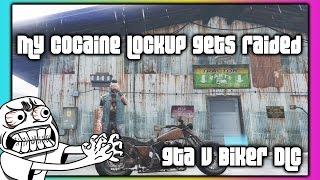 GTA 5 Online :: Biker DLC :: Cocaine Lockup Raid :: Full Stock