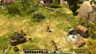 Klo0ga & Gannicus :: Titan Quest Immortal Throne Multiplayer Let's Play :: Episode One