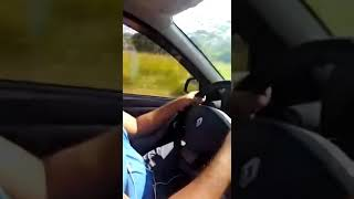 Speeding Up in Ruta del Sol in Colombia traveling with the family