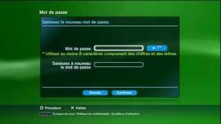 Comment changer de mot de passe sur PS3 ?