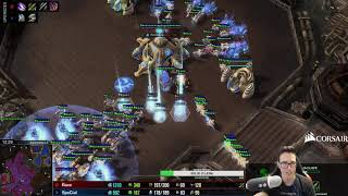 Special Proves Protoss OP in offrace bo3 vs CalebAracous - Test Map (New Balance)