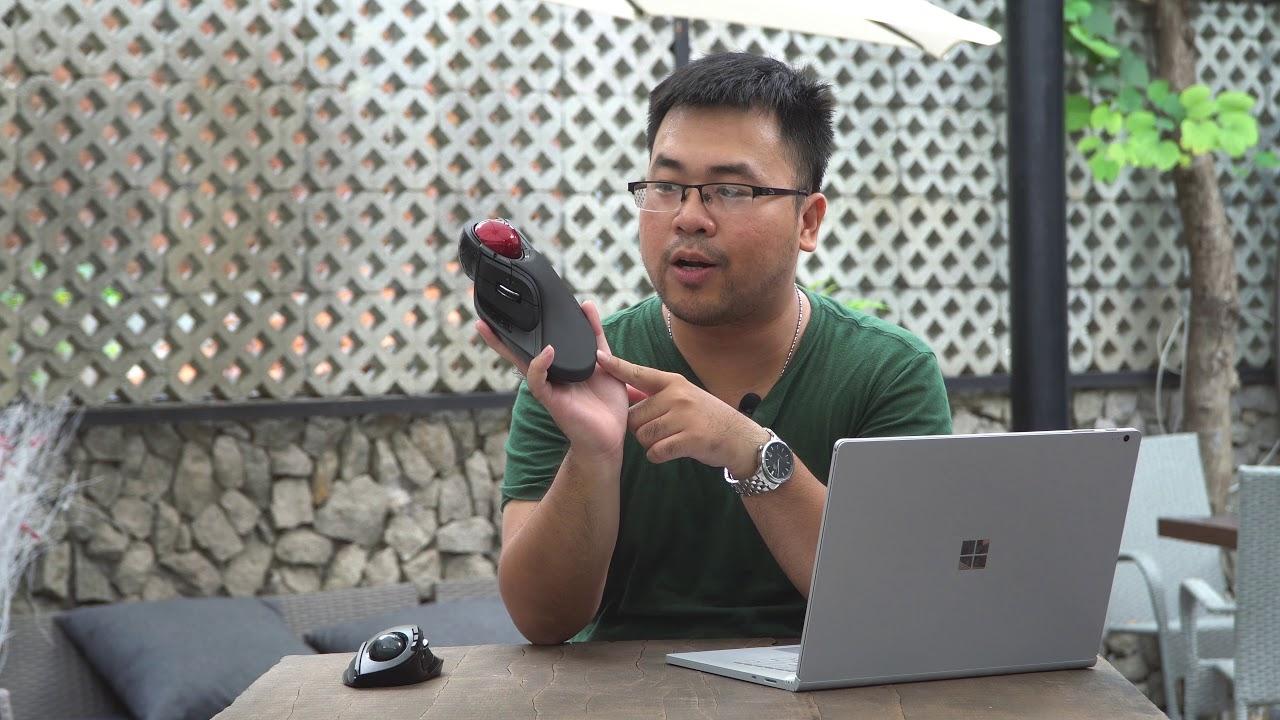 Trên tay chuột trackball Elecom: Hoàn thiện tốt, lăn sướng tay