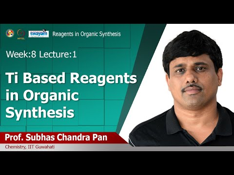 Lec 20: Ti BASED REAGENTS IN ORGANIC SYNTHESIS