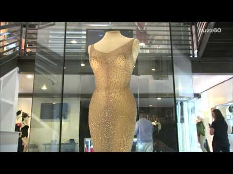 "Marilyn Monroe's Iconic ""Happy Birthday, Mr. President"" Dress sells for $4.8 Million"