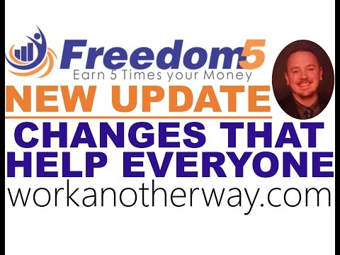 Freedom5 Revshare Great New Changes Freedom 5 Review No Scam Freedom5 Review Freedom5 Tutorial