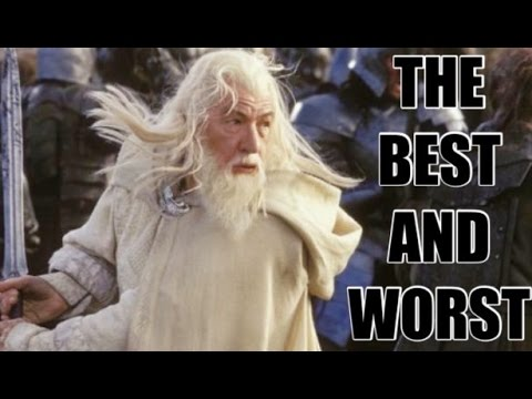 THE BEST AND WORST OF THE LORD OF THE RINGS/THE HOBBIT