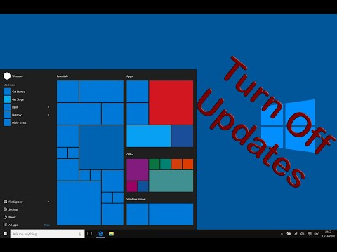 How to disable automatic windows 10 updates permanently