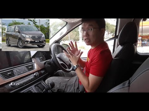Weststar Maxus G10 SE MPV Malaysia - Test Drive Notes, Episode 008