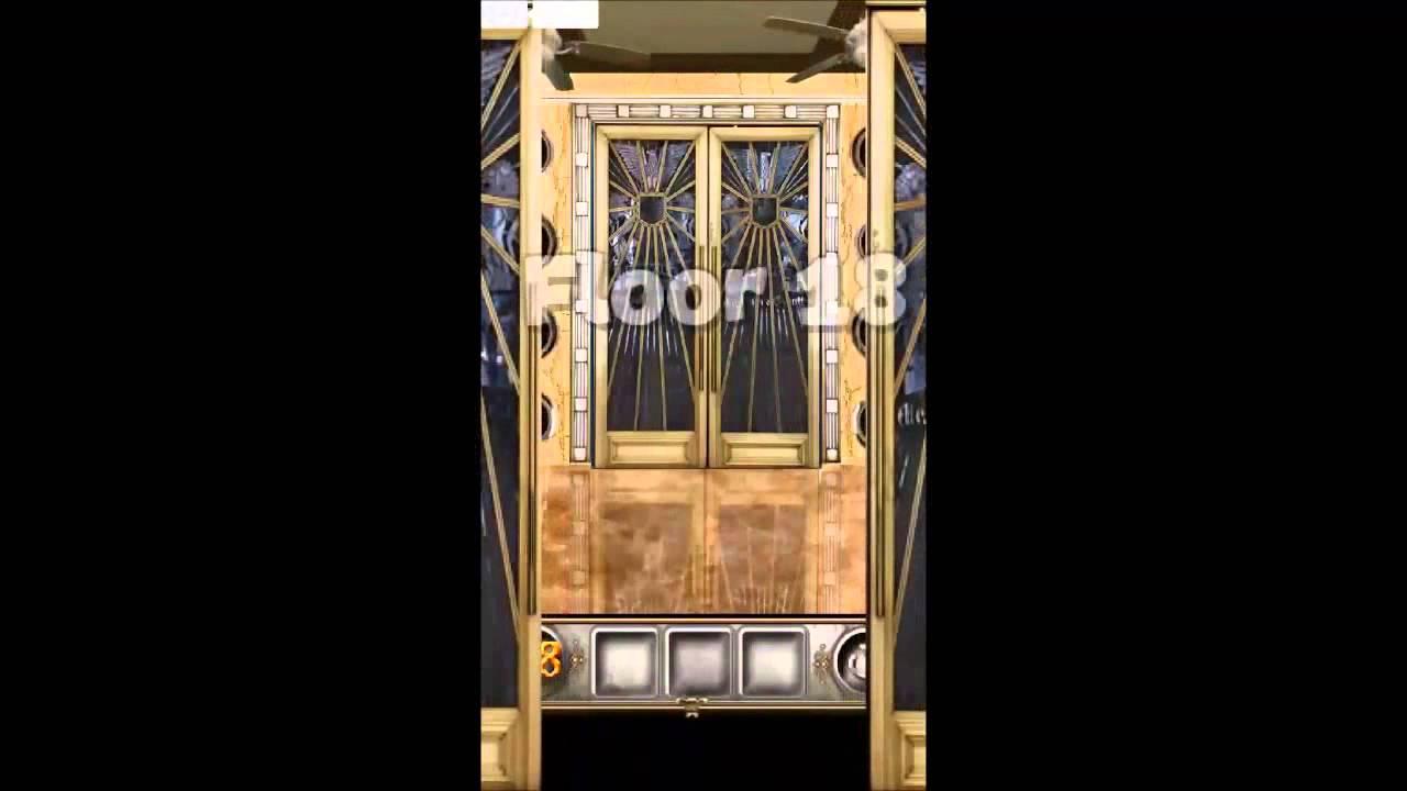 100 Doors Floors Escape Level 16 17 18 19 20 Walkthrough