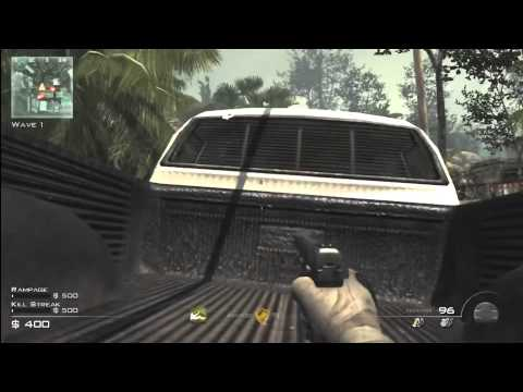 COD MW3 Glitches!! Invisibility Unlimited Round's Survival Mode Best Spot On Village Tutorial