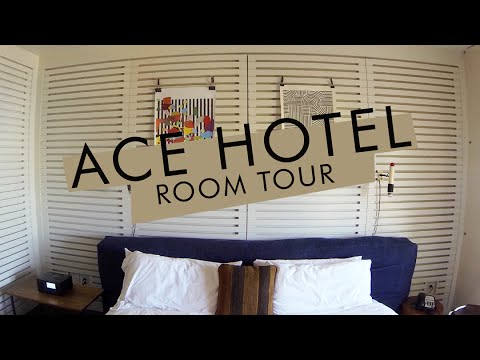 Ace Hotel Room Tour, Palm Springs Ca