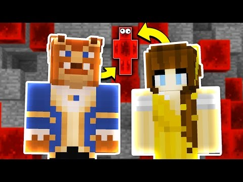 BEAUTY AND THE BEAST HIDE & SEEK! - Minecraft Mods