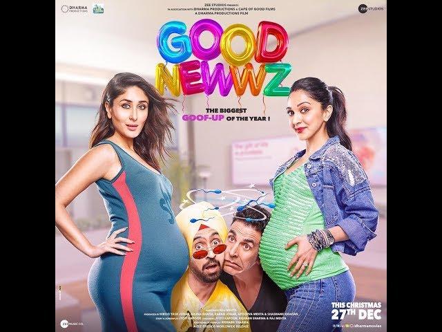 Good Newwz  - Diljit Dosanjh | Akshay Kumar | Kareena Kapoor | Kiara Advani | Trailer | Release Date