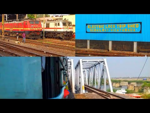 CHENNAI TO VIJAYAWADA - a REMARKABLE Journey on the NAVJEEVAN EXPRESS! || Indian Railways!