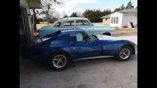 Kevin's 1976 C3 Widebody Corvette Project Video 1