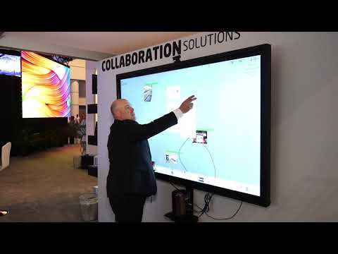 | NEC Display Solutions InfoComm 2017 ThinkHub