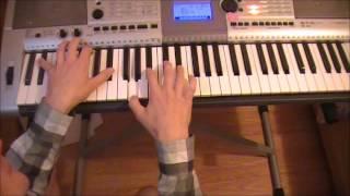 Gravity - Coldplay piano lesson