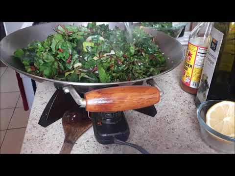 Swiss Chard (green leafy vegetable at it's best)