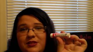 my rose mint lip balm review from beeessential