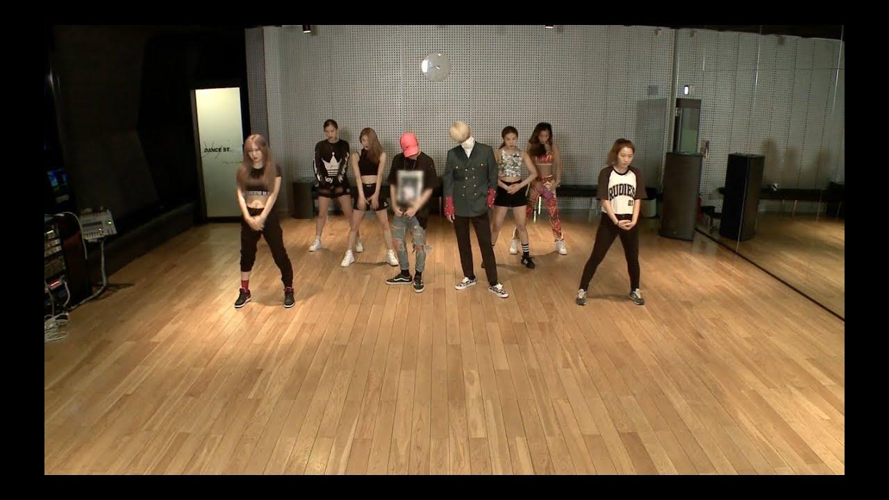 BIGBANG(GD&T.O.P) - '쩔어(ZUTTER)' DANCE PRACTICE
