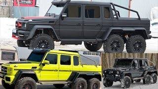 Build Gelandewagen 6x6 by yourself / KIT-CAR G-Wagon 6x6.