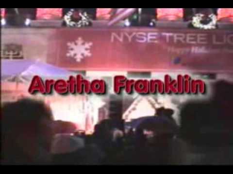 Aretha Franklin Christmas song, Silent Night Live - YouTube