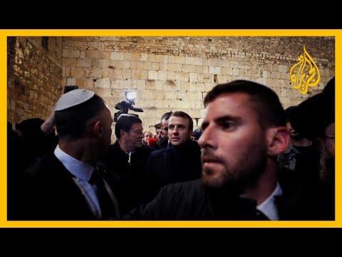 ???? ماكرون يمنع جنود الاحتلال من مرافقته للكنيسة بالقدس  - نشر قبل 3 ساعة