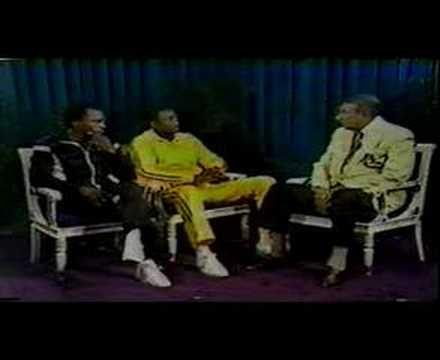 Leonard/Hearns.  Sept, 1981 Howard Cosell interviews them.
