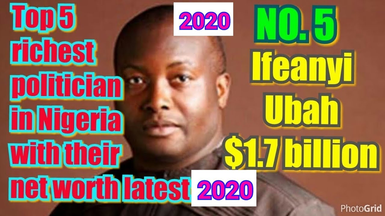 Top 5 richest politician in Nigeria with their net worth latest 2019