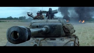 FURY (2014) | Movie Clip From First Battle Scene HD