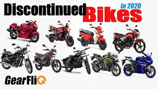 Discontinued Bikes in 2020. No BS6 for these two-wheelers - Hindi | GearFliQ