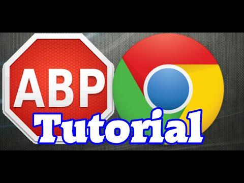 Adblock auf Google Chrome installieren/deinstallieren ! [GERMAN][FullHD50FPS] #NonSave