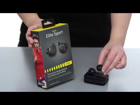How to pair your Jabra Elite Sport to a smartphone the first time out of  the box