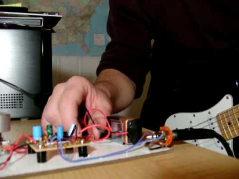 Guitar Amp using an LM386 amplifier