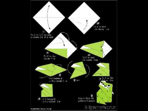 How to make a T. rex origami dinosaur | Natural History Museum | 360x480