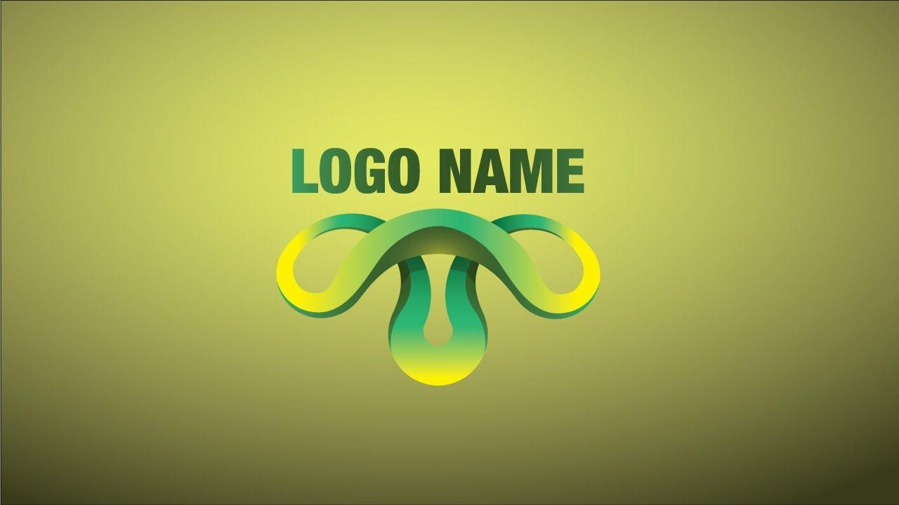 3d как сделать логотип