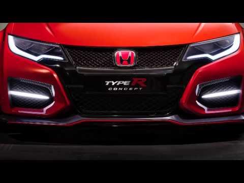 2015 Honda Civic Type R Concept - Geneva Motor Show