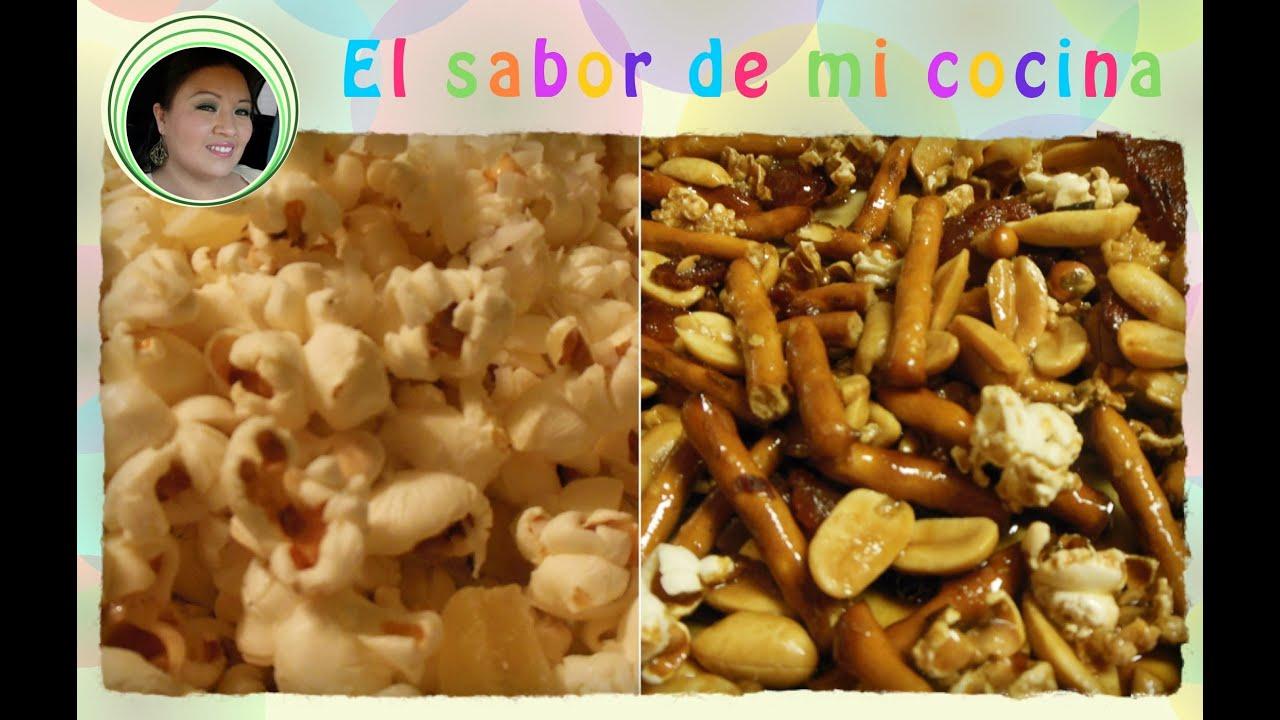 Palomitas de dos formas - El sabor de mi cocina - YouTube