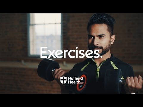 Dumbbell Bicep Curl | Nuffield Health