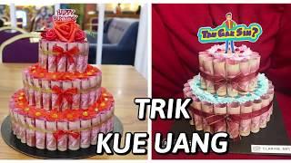 KUE UANG   MONEY CAKE trik trans 7   tau gak sih   magic cube   clarineart medan