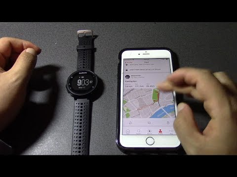 How To Upload Run From Garmin Watch To Strava (Forerunner 235, Iphone 6S+)