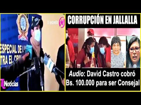 Bolivia | Audio y Denuncia contra partido Jallallla por cobro de dinero para puestos en alcaldía.