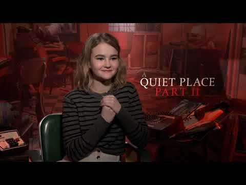 A QUIET PLACE II's Millicent Simmonds Talks Intense Physicality of Sequel [Interview]